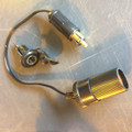 AUXILIARY SOCKET ADAPTER EURO TO US WITH PLUG INCLUDED