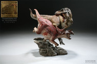Tyrannosaurus Rex vs. Triceratops Diorama by Sideshow