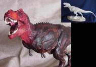 Tyrannosaurus Roaring Resin Kit by Paleocraft