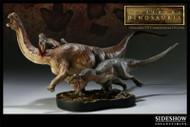 Allosaurus vs. Camarasaurus Diorama by Sideshow