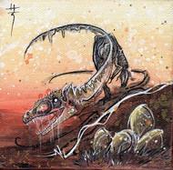 Deinonychus by Richard