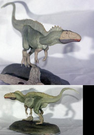 Acrocanthosaurus Resin Kit by Rader