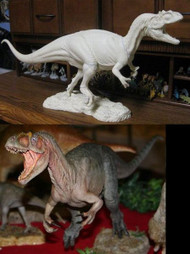 Allosaurus Resin Kit by Foulkes