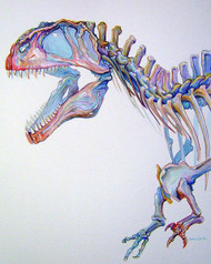 Acrocanthosaurus by Lewis