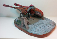 Deinonychus Pair Finished Model by Paleo-Creatures
