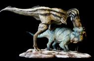 Gorgosaurus vs. Pachyrhinosaurus Finished Model by Dan's Dinosaurs