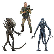 "Sgt. Craig Windrix, Warrior, Xenomorph from ""Alien"" Series 2 by NECA"