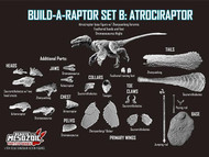 Build-a-Raptor Atrociraptor Set by Beasts of the Mesozoic