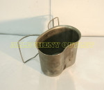 US MILITARY BUTTERFLY / NEW STYLE Stainless Steel Canteen Cup NICE