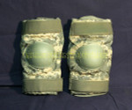 US GI MILITARY BIJAN'S DIGITAL CAMO Tactical Paintball Elbow Pads NICE CONDITION