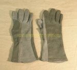 US MILITARY USAF Nomex Flyer's Flight Pilot Gloves Sizes 7-12 NICE