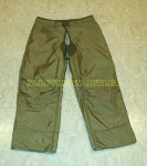 US ARMY M-1951 Pant Liner OD Small Long Wool Lined LIKE NEW