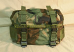 US MILITARY WOODLAND CAMO ALICE 3 Day Field Training BUTT Pack NEW / LIKE NEW