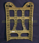 US MILITARY Polymer Molle II Pack TAN Frame 4th Generation NEW / UNISSUED