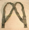 Lot of 25 US MILITARY M-1950 OD GREEN TROUSER SUSPENDERS ADJUSTABLE NEW / UNISSUED