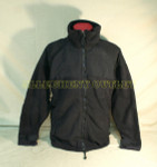 US MILITARY POLARTEC JACKET COAT BLACK DSCP VERY GOOD