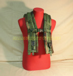 US MILITARY MOLLE II WOODLAND CAMO Shoulder Straps NICE CONDITION