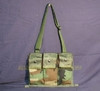USGI MOLLIE II M16A2 WOODLAND BANDOLIER AMMO POUCH w/ Strap NEW / LIKE NEW CONDITION