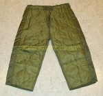GENUINE US ARMY Military M-65 M65 OD PANT Trouser LINER LINERS NEW / UNISSUED 154876 0