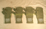 US GI MILITARY Trigger Finger Mitten Insert Liners LARGE LOT OF 2 PAIR NEW / UNISSUED