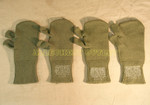 US GI MILITARY Trigger Finger Mitten Insert Liners LARGE LOT OF 2 PAIR VERY GOOD CONDITION