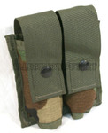US MILITARY MOLLE II 40MM DOUBLE AMMO POUCH NEW / UNISSUED CONDITION