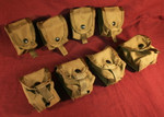LOT of 8 MOLLE II SDS Grenade Pouches COLOR: COYOTE BROWN NEW / UNISSUED CONDITION