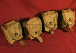 LOT of 4 MOLLE II SDS Grenade Pouches COLOR: COYOTE BROWN NEW / UNISSUED CONDITION
