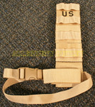 CASE LOT of (75) GENUINE U.S. MILITARY ISSUE MOLLE II DESERT HOLSTER LEG EXTENDER NEW IN BAG / UNISSUED CONDITION