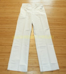 US MILITARY  NAVY WHITE Dress Pants SIZE 34XL NEW IN BAG CONDITION
