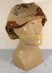 GENUINE U.S. MILITARY  ISSUE USGI ARMY 6-COLOR DESERT CAMO Helmet Cover Size: Large / Medium NEW / UNISSUED CONDITION
