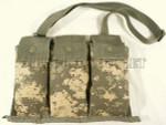 USGI MILITARY ACU Dig MOLLE 6 Mag Bandoleer Pouch w/ Strap NEW