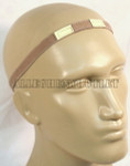 GENUINE U.S. MILITARY ISSUE KEVLAR HELMET REFLECTIVE DESERT TAN CAT EYE BAND NEW / UNISSUED CONDITION