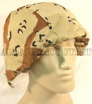 GENUINE U.S. MILITARY  ISSUE USGI ARMY 6-COLOR DESERT CAMO Helmet Cover Size: Large / Medium NEW / UNISSUED CONDITION 0887