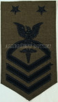 GENUINE U.S. MILITARY ISSUE NAVY Master Chief Petty Officer Hospital Corpsman Patch NEW IN BAG / UNISSUED CONDITION