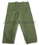 GENUINE U.S. MILITARY ISSUE OD OLIVE DRAB GREEN WET WEATHER LIGHTWEIGHT PANTS / TROUSERS SIZE: EXTRA SMALL NEW IN BAG CONDITION
