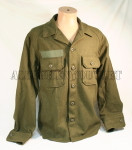 NEW Genuine US Military WOOL FIELD SHIRT Cold Weather Winter Hunting GREEN Small