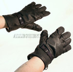 US Military GORETEX Cold Weather ICW Black Leather GLOVES Size 3 Medium NEW IN BAG / UNISSUED