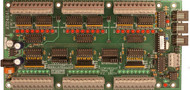 AT2424L Microprocessor Based Remote I/O Board with RS232 / RS485 Interface Board