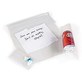 """Evidence Bags, Heavy-Duty Plastic, 3"""" x 5"""", Pack of 100"""