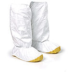 Tyvek High-Top Boot Covers with Vinyl Sole
