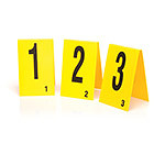 Photo Evidence Marker Numbers, 16 to 50
