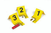 EVI-PAQ Cut-Out ID Tent Kit, 1 to 60, Yellow