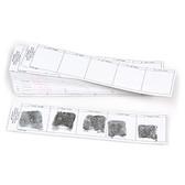 Postmortem Fingerprint Card Strips, 50 Right/50 Left