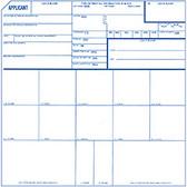 Fingerprint Cards for Applicant, (Form FD-258), Pack of 100