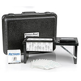 Portable Fingerprint Kit with Porelon Pad, Folding Stand and Case