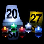 Evi-Lites Lighted Evidence Markers, Pack of 10