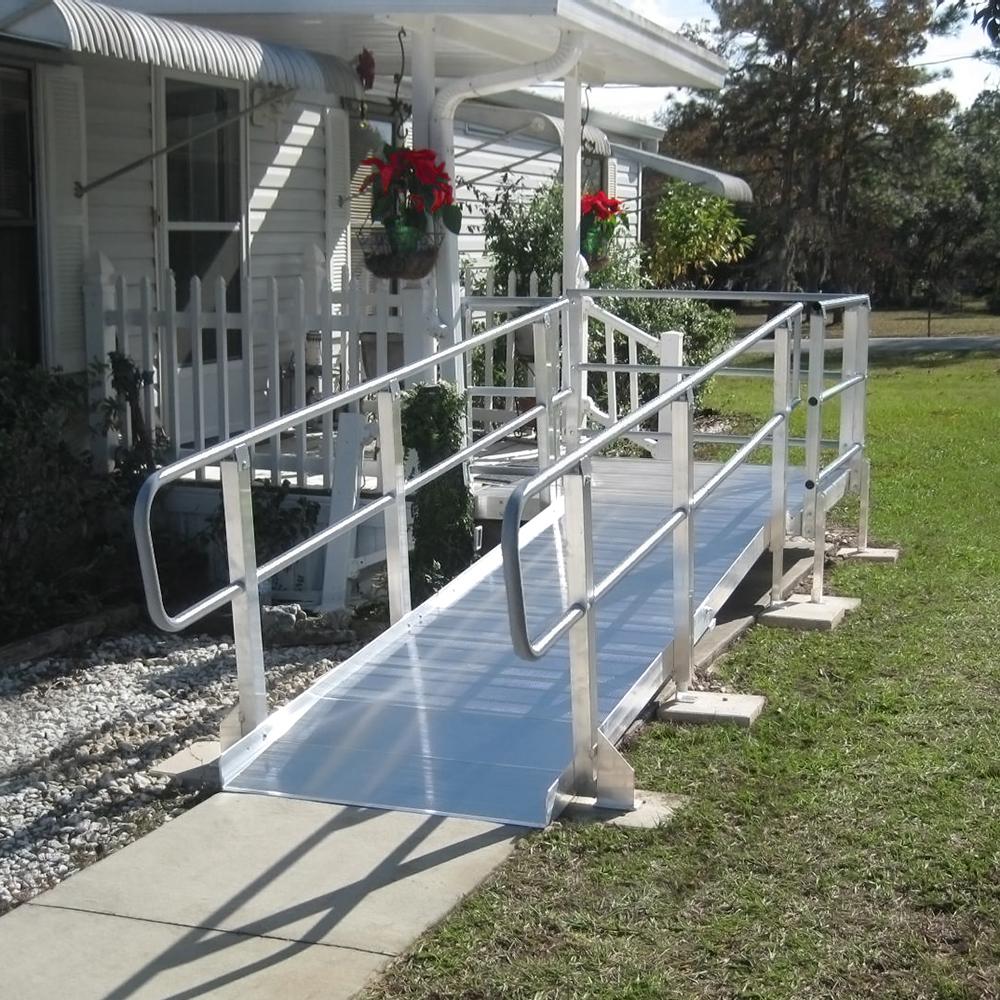 Modular ramps wheelchair portable ramps ada for Ada modular homes