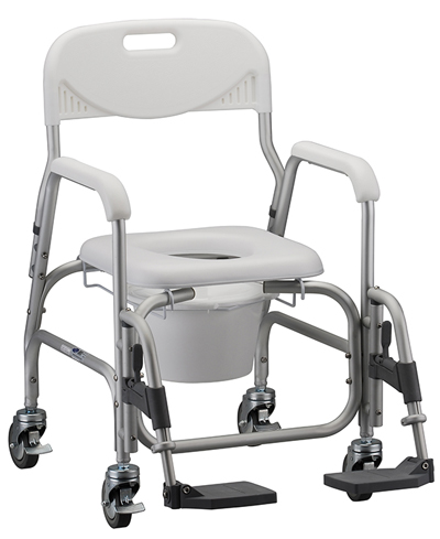 Wheelchair Commode | Deluxe Shower Chair and Commode | Bathroom Safety | Nova 8801 | Home Health Depot Medical Equipment & Supplies | (310) 891-1954 | Rental | Service & Repair | Delivery | Los Angeles, South Bay, Long Beach, Lomita, Carson, Torrance