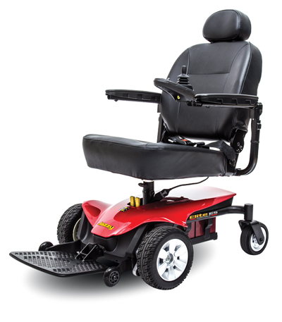 Power wheelchair jazzy elite es portable los angeles for Does medicare cover motorized wheelchairs